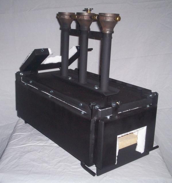 3 Burner Metalsmith Forge